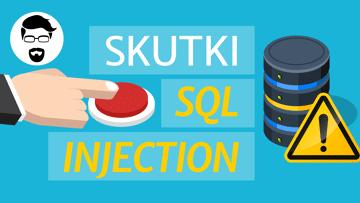 Skutki błędów SQL Injection - wykonanie kodu